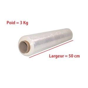 Rouleau Film Étirable transparent 3kg